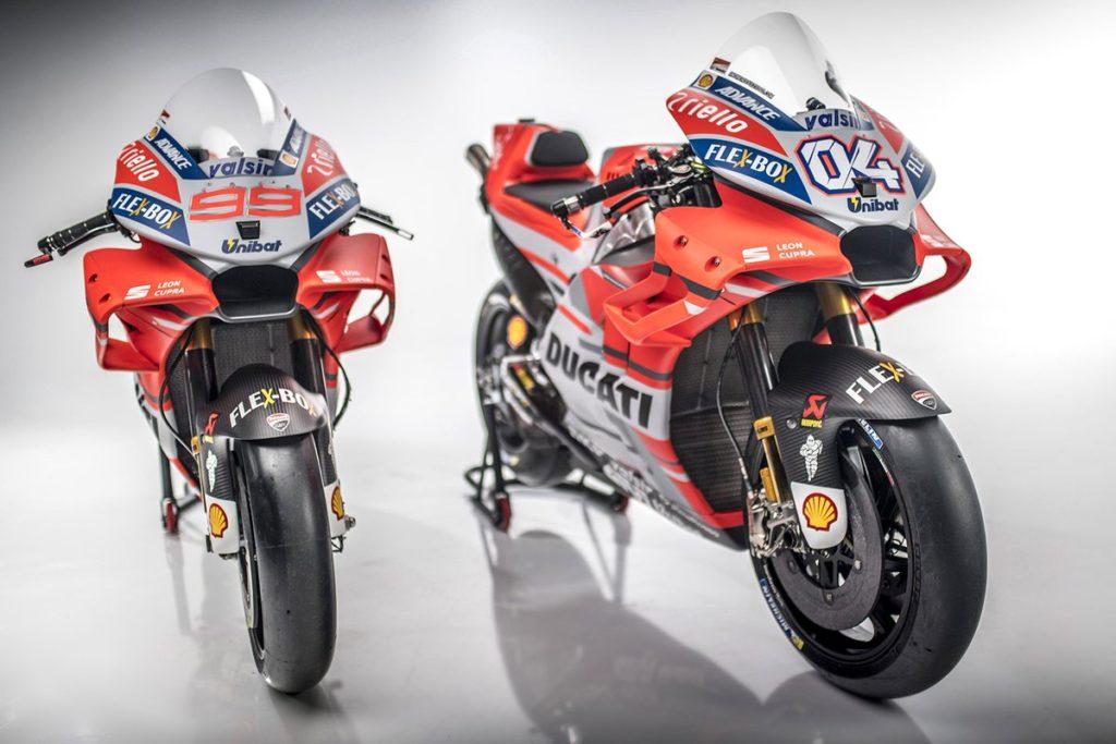 Ini Tampang Ducati Desmosedici Terbaru Musim 2018