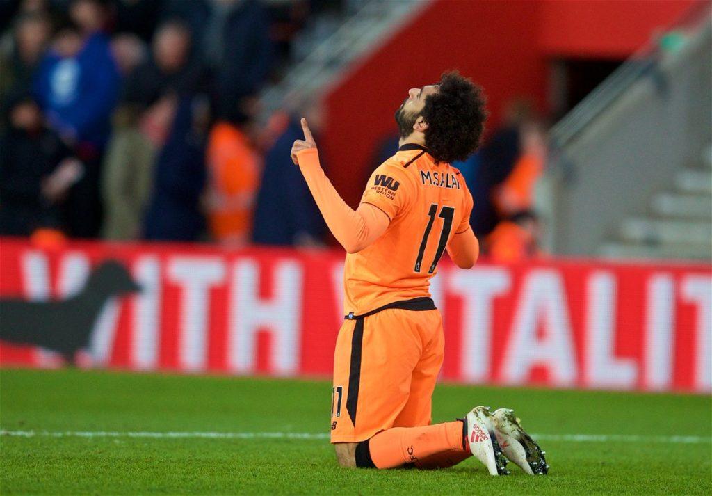Mohamed Salah Bawa Liverpool Ke Tiga Besar Liga Inggris